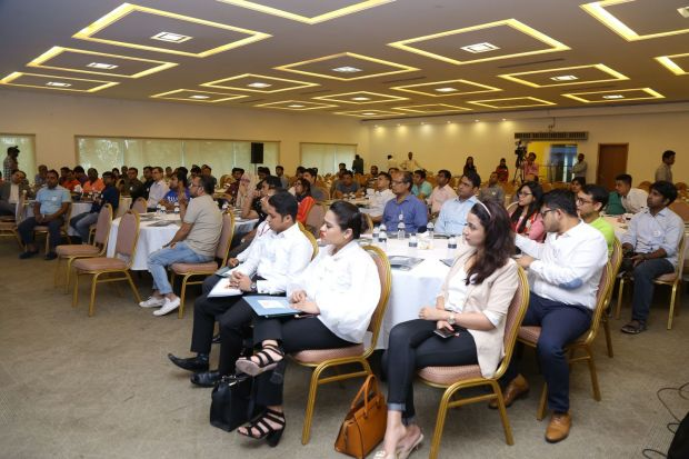 Around 200 apparel professionals attended the workshop.