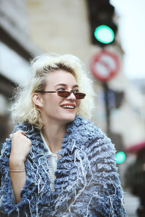 The indigo alternative: Denim fur
