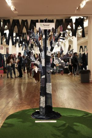 Tree made of Tencel denim