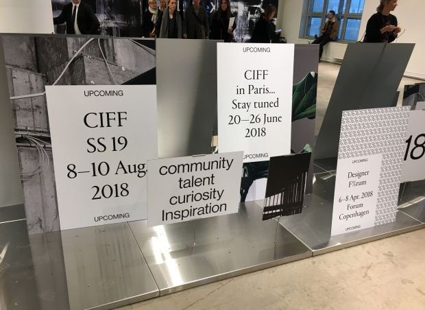 All about inspiration: CIFF installation in the entrance area