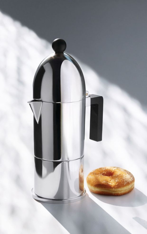 The iconic espresso maker by Alessi