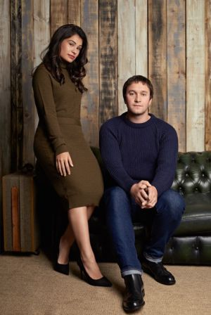 Anabel Calvo and Ben Bailey, founders of Studio British