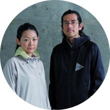 Keita Ikeuchi (r.) & Mihoko Mori, the duo behind And Wander