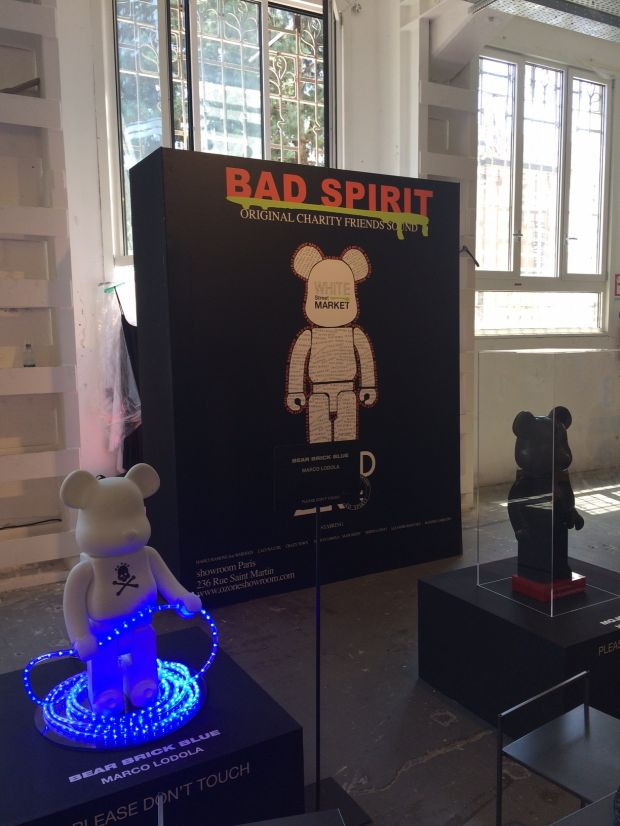 Charity exhibition by Bad Spirit