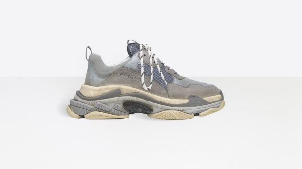 The Balenciaga Triple S dropped in 2017 and ignited the chunky sneaker trend.