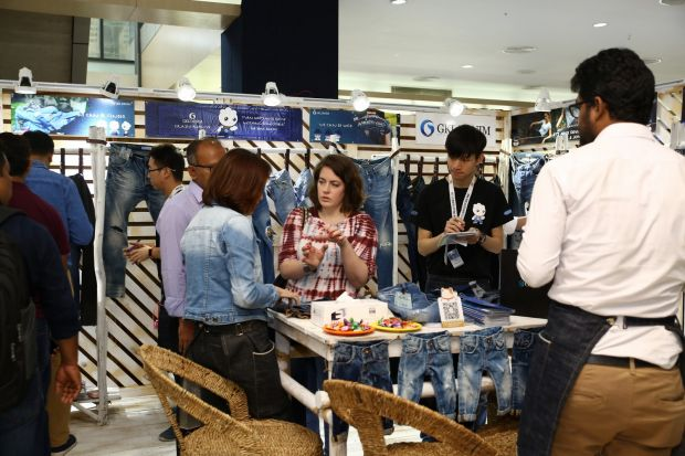 The fair attracted international denim players of the global denim industry
