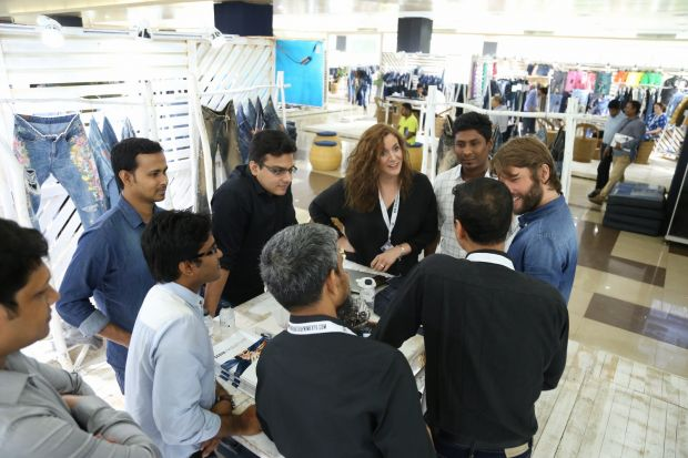 Networking at Bangladesh Denim Expo