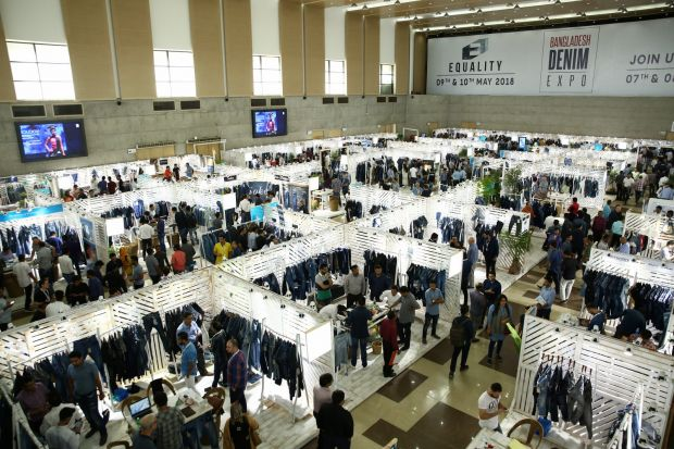 Denim Expo Bangladesh: Hall View