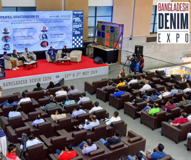 Panel discussion at the Bangladesh Denim Expo