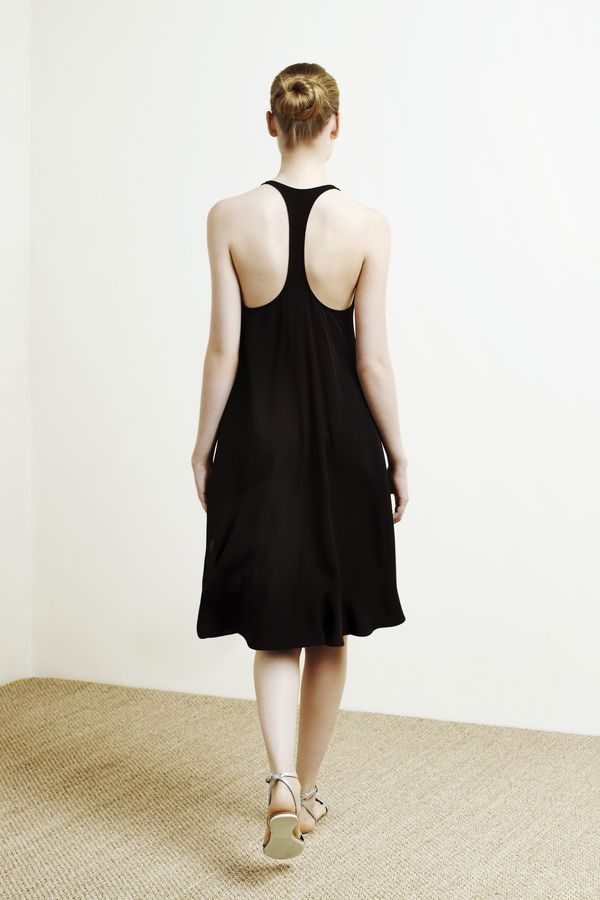Black dress from the Oysho collection 2012