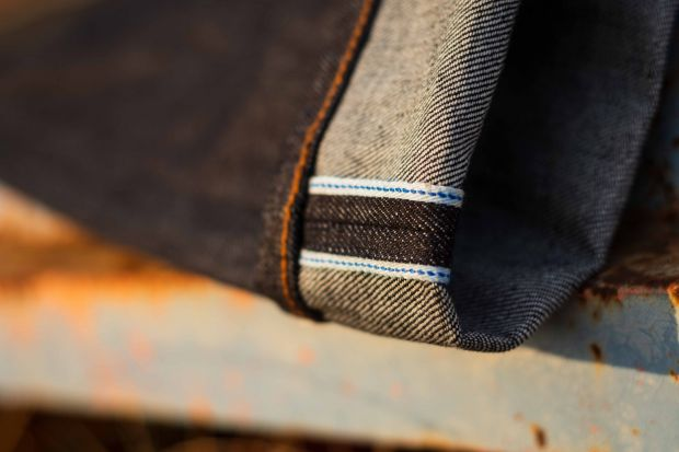 German-made selvedge denim