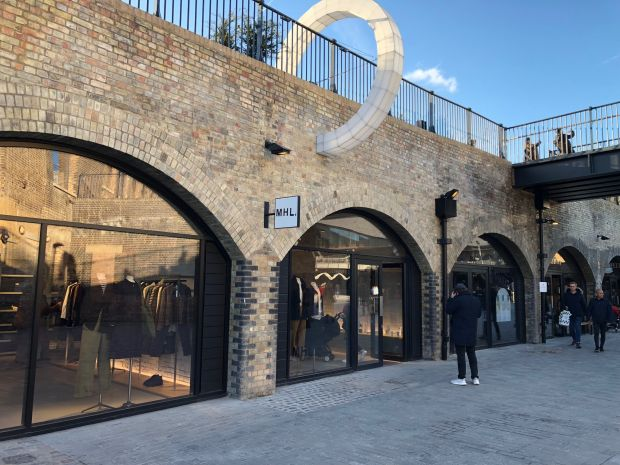 Coal Drops Yard houses some 50 units, including the shop of MHL