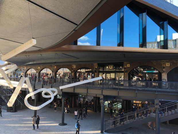 Coal Drops Yard recently opened in London's King's Cross