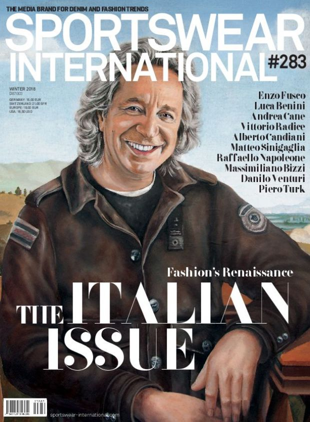 Our Italian Issue dropped on January 5, 2018