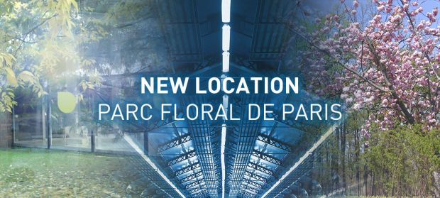 New location at Parc Floral in Paris