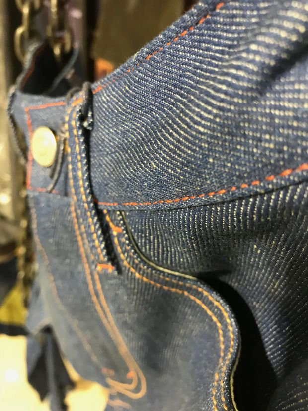 Details at Denimsandjeans fair in Vietnam