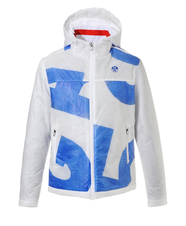 North Sails jacket made with recycled spinnakers