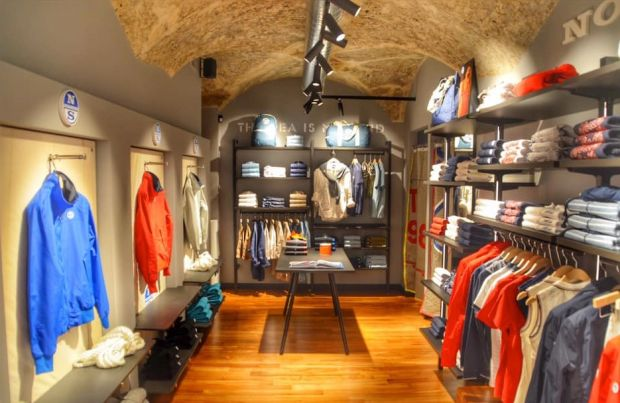 North Sails store in Bologna