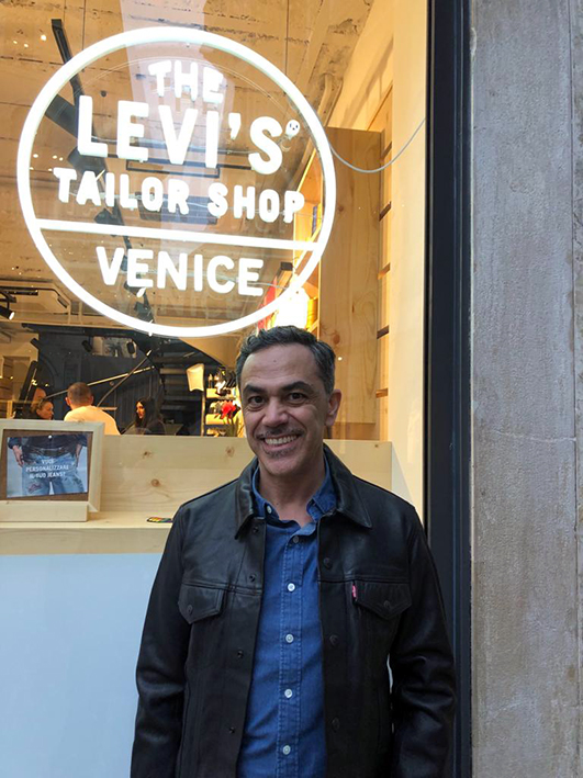 Walter Del Monte, retail director, Levi's Italy, Spain and Portugal.