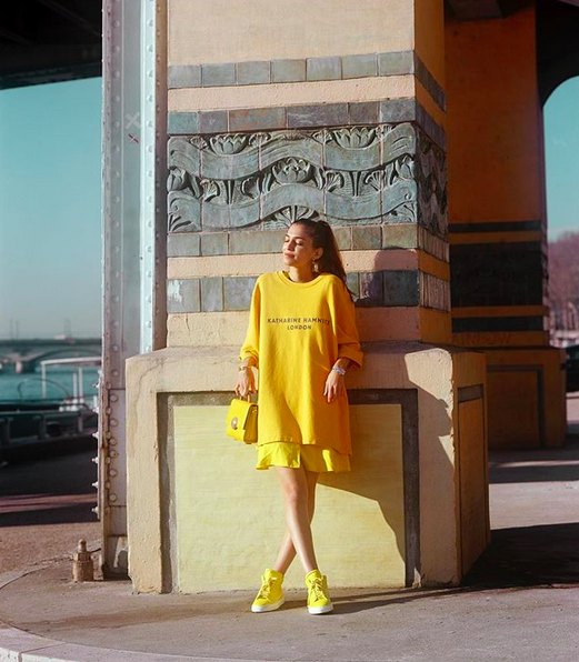 Shot from the #YellowLikeALemon campaign