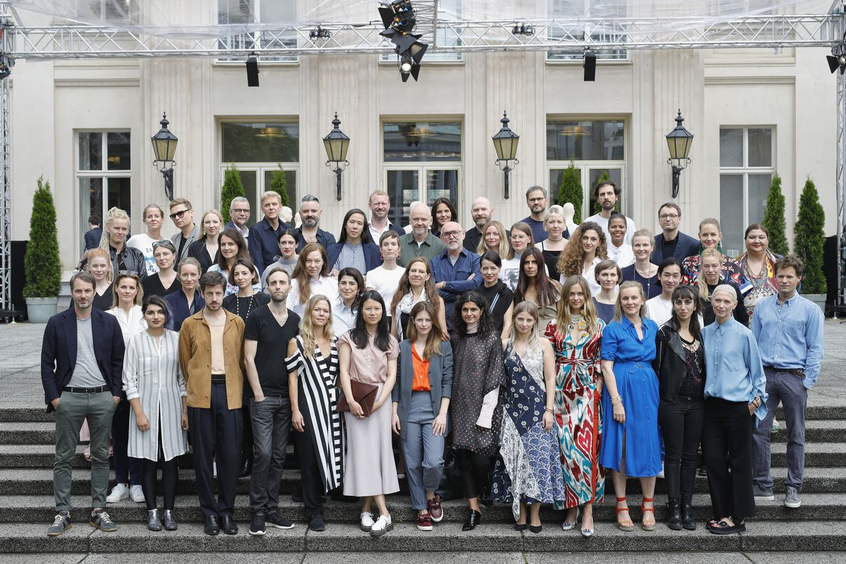 Group exhibitiors at Der Berliner Salon for SS18