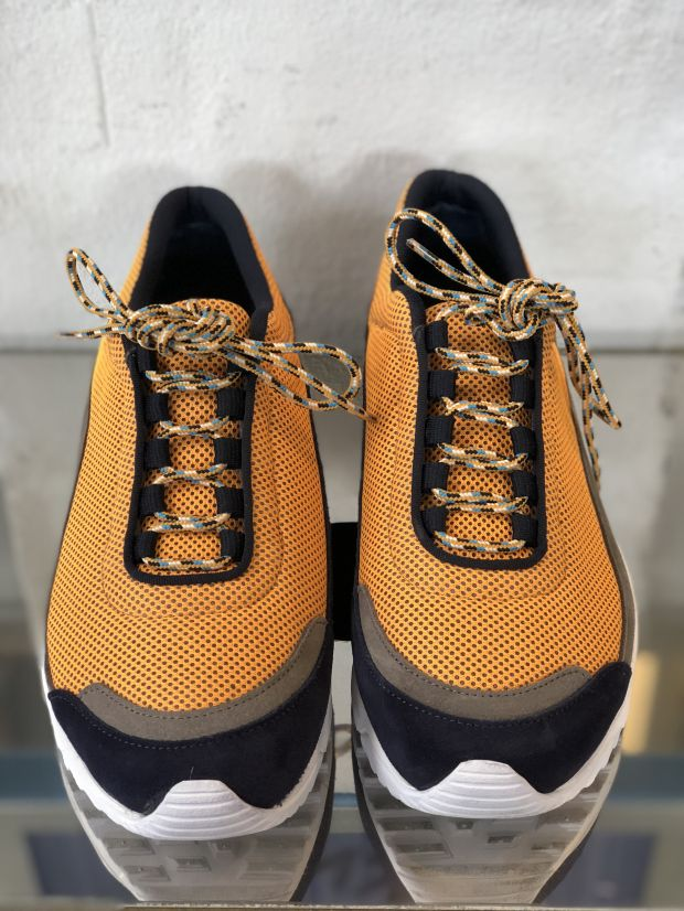 Hiking-inspired sneakers by Wood Wood spotted at Revolver
