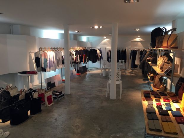 Inside the Jumble showroom