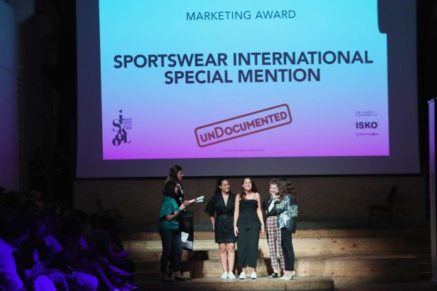 "Award winning ceremony of SI's ""Special Mention"" award at the Isko Iskool educational contest"
