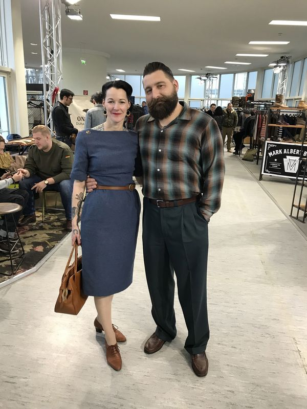 Jessica Böttcher of Pomadeshop with boyfriend Markus Betz