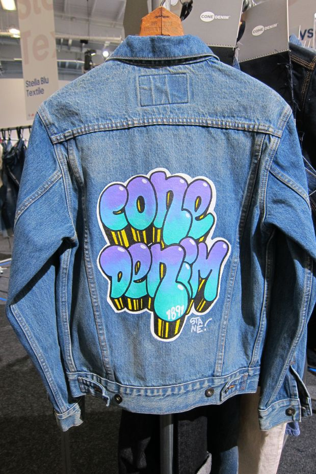 Cone Denim's Graffitti Jacket