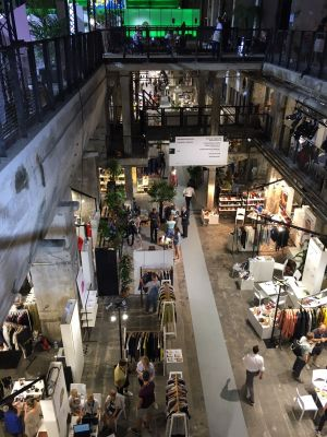 Exhibition space at Kraftwerk, July 2018