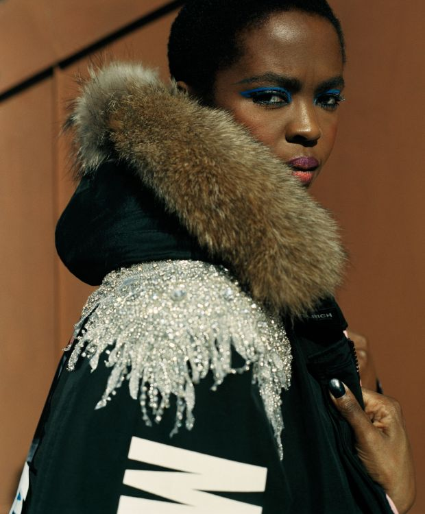 'Woolrich: American Soul since 1830' Fall/Winter 2018 starring Lauryn Hill
