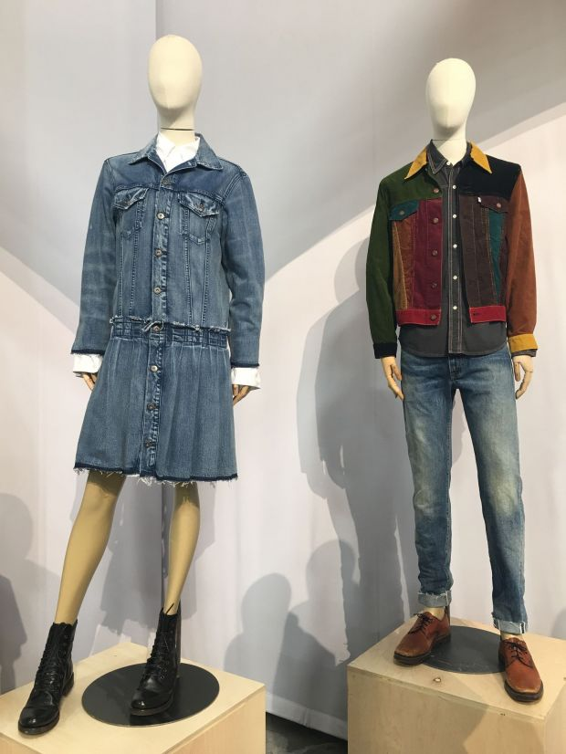 Dual gender brand Levi's wants to present men's and women's apparel.
