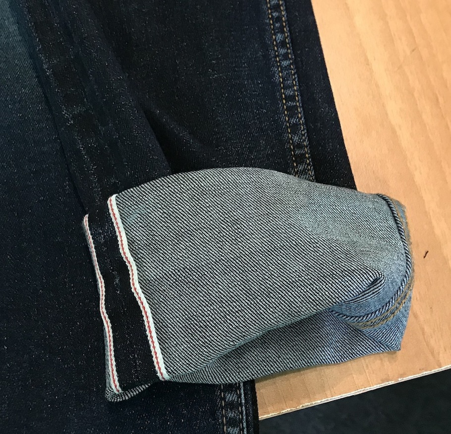 Selvedge denim with Bi-Stretch, woven in Japanese construction, Soorty