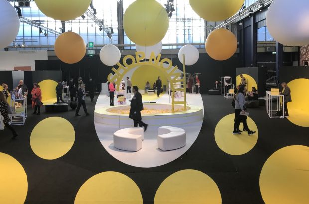 'Shop Now' area at Modefabriek's West hall
