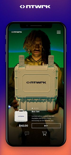 Aaron Levant's new project, NTWRK, is often described as a sort of QVC for Gen Z.