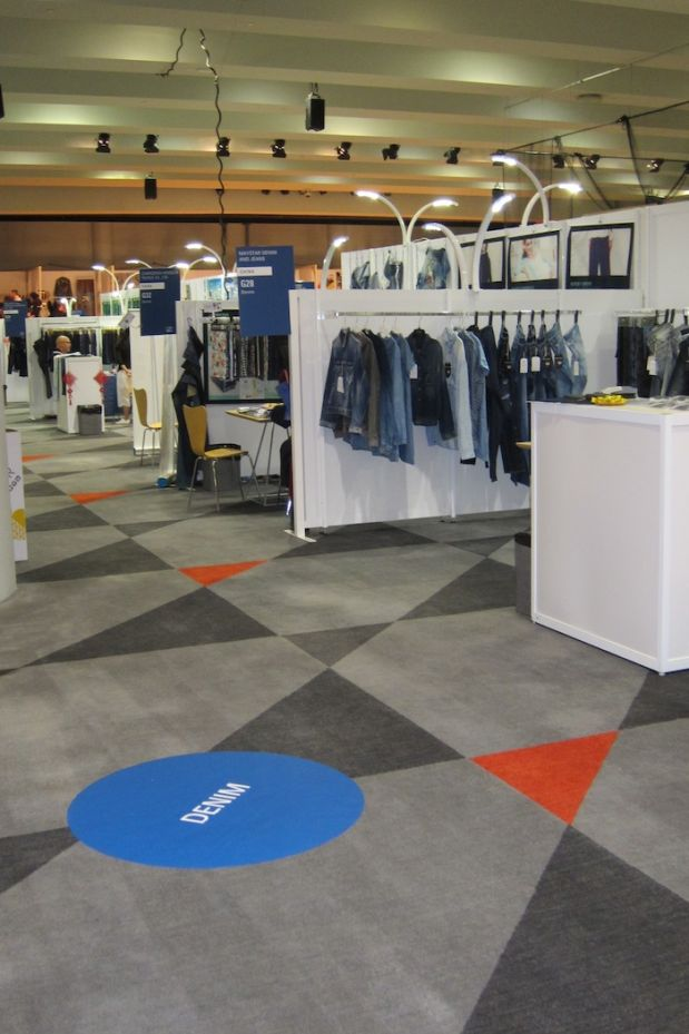 Texworld Denim area