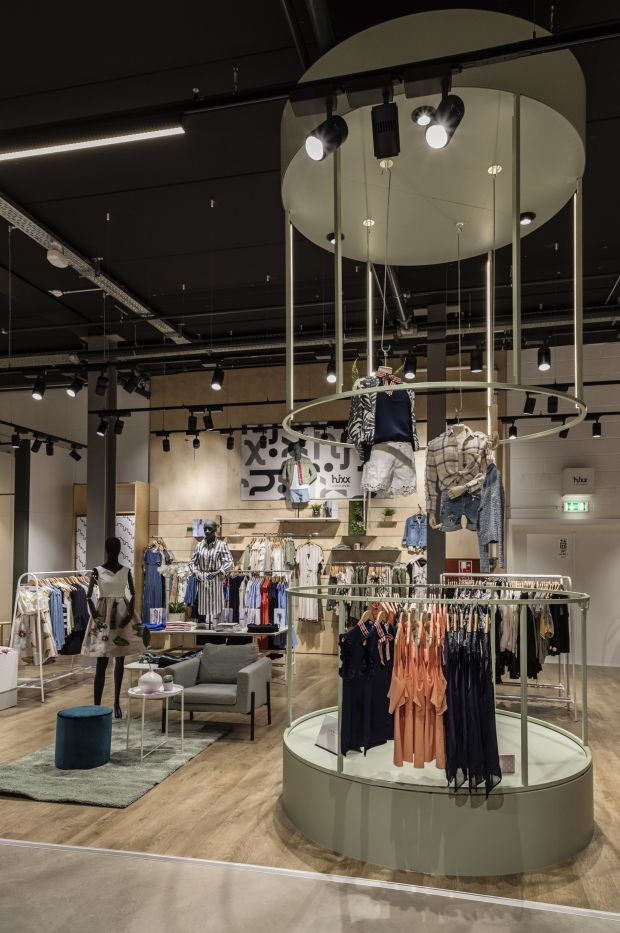 Inside Hixx Store, Luxembourg