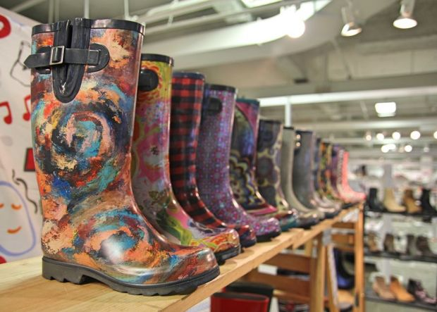 Nomad Rainboots at Transit