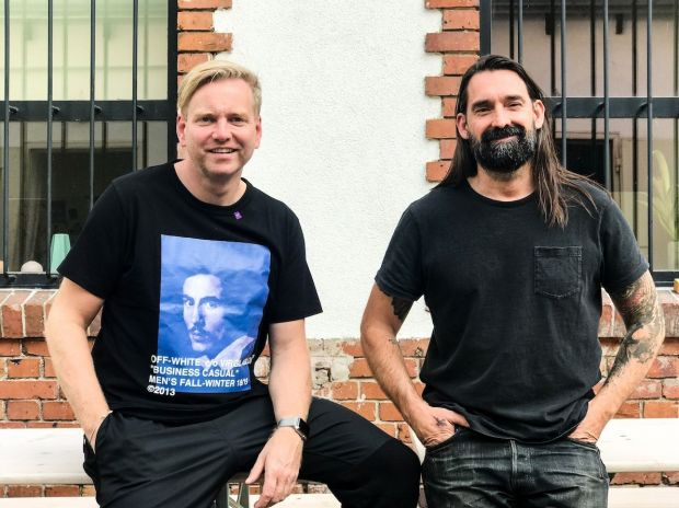 From left: Jörg Wichmann (CEO Panorama) and Shane Brandenburg (Co founder and sales manager Selvedge Run)