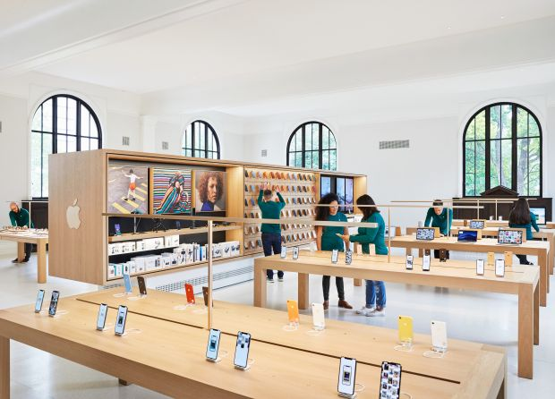 Apple Store Carnegie Library, Washington D.C. (inside)