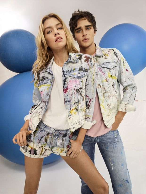 Pepe Barroso and Stella Maxwell for Pepe Jeans