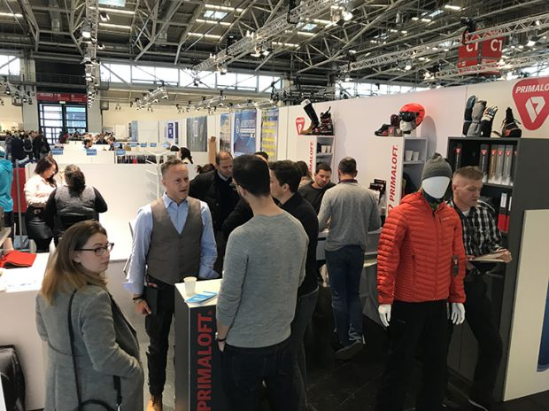 This edition of Performance Days, the Munich trade fair for functional fabrics, was presented for the first time on the grounds of Messe München.