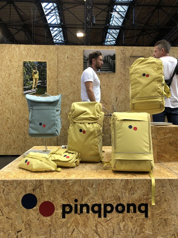 Light yellow bags by PinqPonq