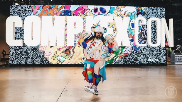 Psychedelic Takashi Murakami projections