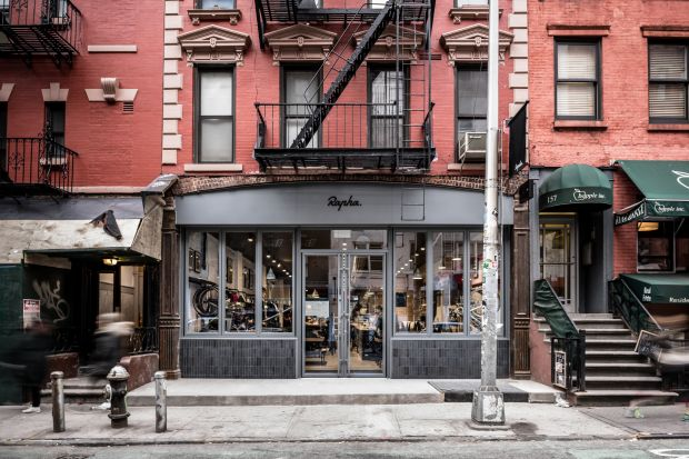 Rapha store in NYC