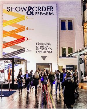 Entrance of Show & Order, the event running parallel to Premium and held at the Kühlhaus.