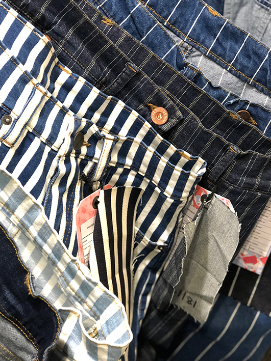 All manner of stripes at Pioneer Denim