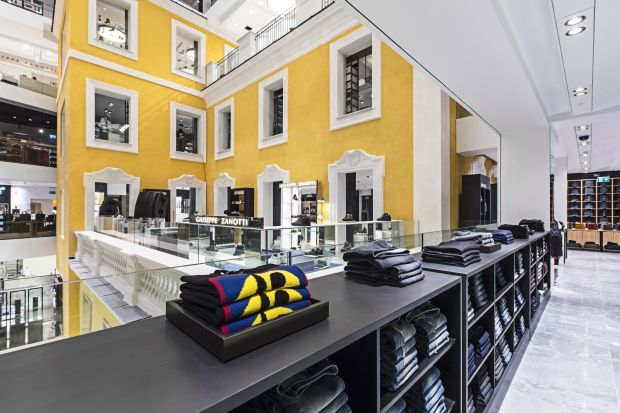 Rinascente store in Rome