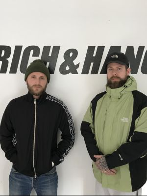 Agency founders Kasper Spacey and Mads Hancock